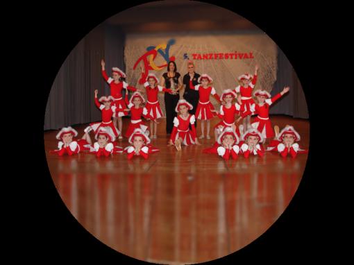 RCV Mini Garde Tanzgruppe Rheinböllen Tanzfestival