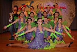 RCV Rheinböllen Tanzgruppe Flashlights